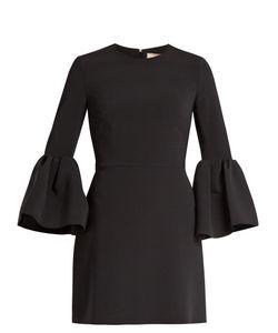 ROKSANDA | Hadari Bell-Sleeved Cady Dress