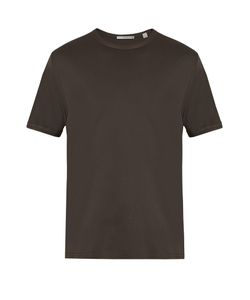 Vince   Split-Hem Jersey T-Shirt