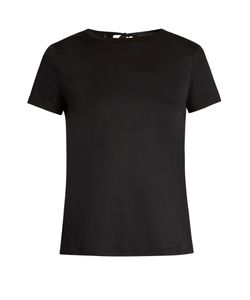 Helmut Lang | Tie-Back Cotton-Jersey T-Shirt