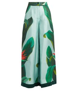F.R.S For Restless Sleepers | Narciso Flower-Print Silk Pyjama Trousers