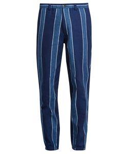 Blue Blue Japan | Slim-Fit Linen-Blend Trousers