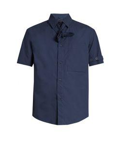CRAIG GREEN   Belted Short-Sleeved Cotton-Poplin Shirt
