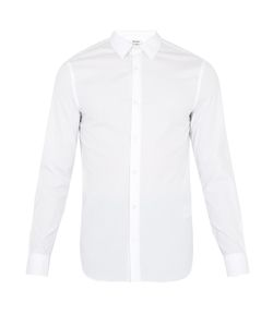 Acne | Mario Spread-Collar Cotton-Blend Shirt