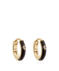 MARC ALARY | Diamond Enamel Earrings
