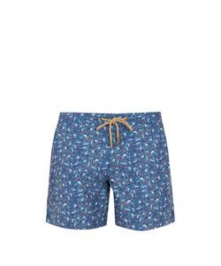 THORSUN | Titan-Fit Bird-Print Swim Shorts