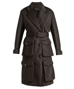 Simone Rocha | Patch-Pocket Neoprene Coat