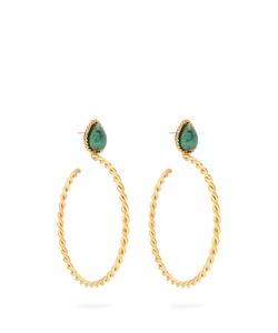 Sylvia Toledano | Malachite And Plated Earrings