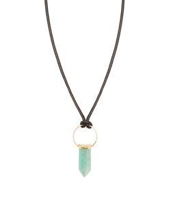 Isabel Marant | Amazonite And Leather Necklace