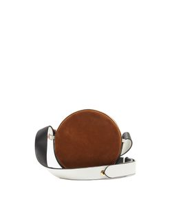 Diane Von Furstenberg | Circle Leather And Suede Cross-Body Bag