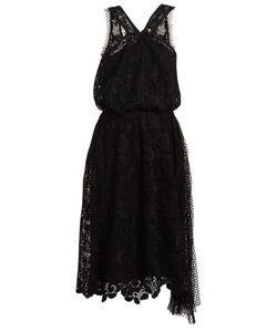 No. 21 | Macramé-Lace V-Neck Dress