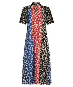 Duro Olowu | Nina Contrast-Panel Crepe Dress