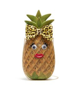 Charlotte Olympia | Piña Wooden Bag