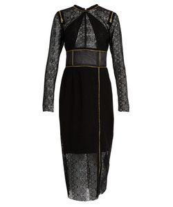 Sophie Theallet | Zip-Detail Guipure-Lace Dress