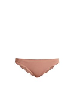 Marysia Swim | Broadway Scallop-Edged Bikini Briefs