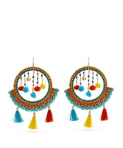ROSANTICA BY MICHELA PANERO | Merida Bead And Tassel Earrings