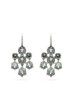 Bottega Veneta | Cubic-Zirconia And Chandelier Earrings