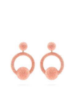 Rebecca De Ravenel | Laeticia Hoop-Drop Earrings