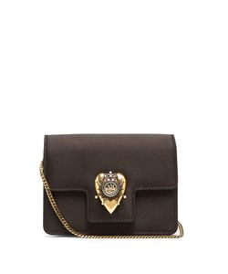 Alexander McQueen | Heart Mini Satin Shoulder Bag