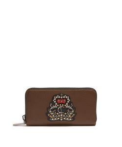 Christian Louboutin | Panettone Zip-Around Leather Wallet