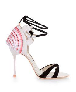 Sophia Webster | Flamingo Frill Leather Sandals
