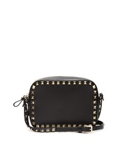 Valentino | Rockstud Camera Leather Cross-Body Bag