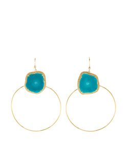 JACQUIE AICHE | Diamond Turquoise Earrings