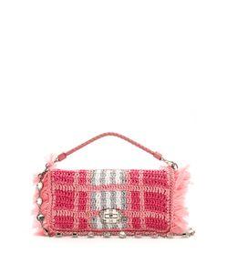Miu Miu | Woven-Raffia Shoulder Bag