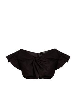 Rachel Comey | Crush Cotton-Poplin Cropped Top