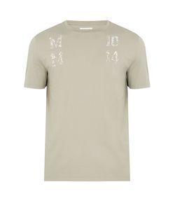 Maison Margiela | Logo-Print Cotton-Jersey T-Shirt