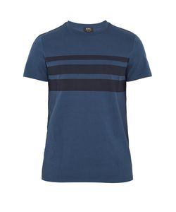 A.P.C. | Jimmy Stripe-Print Cotton T-Shirt