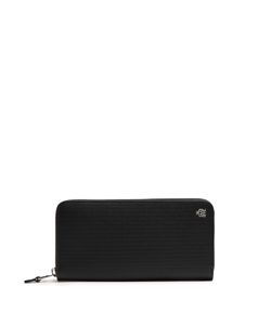 Dunhill | Engine Turn Leather Continental Wallet