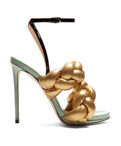Marco De Vincenzo | Plaited Leather Sandals