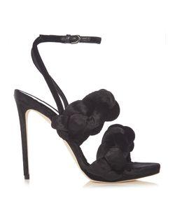 Marco De Vincenzo | Plaited Velvet Sandals