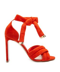 Nicholas Kirkwood | Ziggy Cross-Strap Suede Sandals
