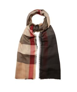 Burberry | House-Check Cashmere Scarf