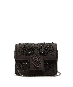 Alexander McQueen | Insignia Embellished Satin Bag
