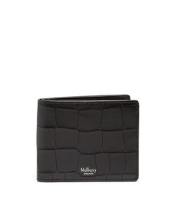 Mulberry | Crocodile-Effect Embossed-Leather Wallet