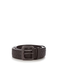 Bottega Veneta | Interecciato Leather 3.5cm Belt
