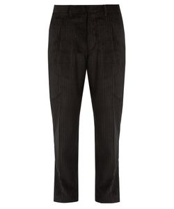 The GIGI | Tonga Tapered-Leg Cropped Cotton-Corduroy Trousers