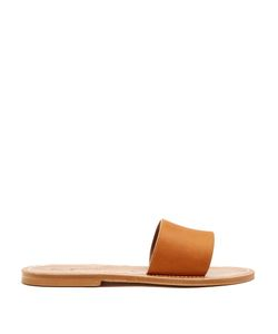 K. Jacques | Anacapri Leather Slides