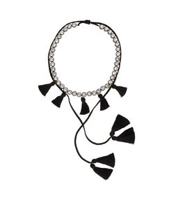 Shourouk | Line Pompom Necklace