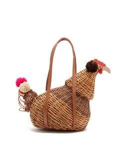 Sophie Anderson | Camille Hen Wicker Basket Bag