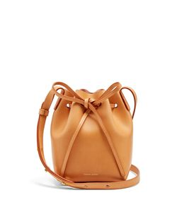 MANSUR GAVRIEL | -Lined Mini Mini Leather Bucket Bag