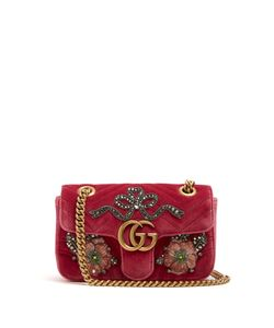 Gucci | Gg Marmont Mini Quilted Cross-Body Bag