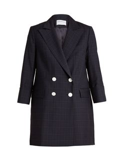 OSMAN | Adele Checked Wool Blazer