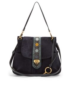 Chloe | Lexa Medium Suede Shoulder Bag