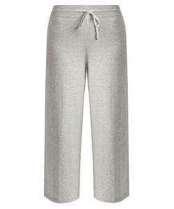 Vince | Wide-Leg Cropped Cotton-Jersey Track Pants
