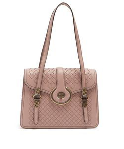 Bottega Veneta | Mazzaluna Intrecciato Leather Shoulder Bag