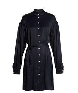 OSMAN | Tiana Seersucker Shirt Dress
