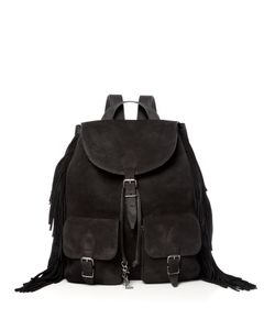 Saint Laurent | Fringed Backpack